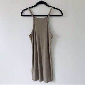 4/$25 Double Zero Tan Dress Small